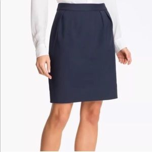 Kate Spade | Darling Deco Navy Barry Skirt | Large